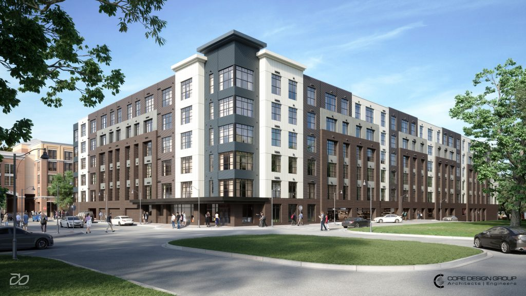 CORE Design Group Designs New High-Density Apartment ...
